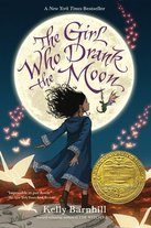 Picture of Book Cover Art for The Girl Who Drank the Moon by Kelly Barnhill.